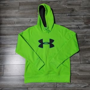 Under Armour Cool Gear Neon Green Hoodie